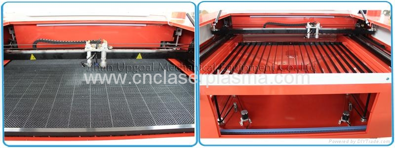Honey comb & knife strip double working table, auto lifting table