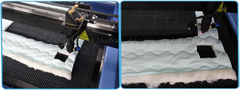 Co2 laser head, for cotton fabric cutting