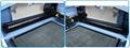 Hiwin linear square guide rail & 3M belt transmission