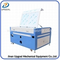 Titanium Plate/OSB Board Co2 Laser Engraving Cutting Machine with Double Heads