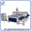 Removable  4 Axis Woodworking CNC Router 1325 with Dia 300 Rotary Axis Holder