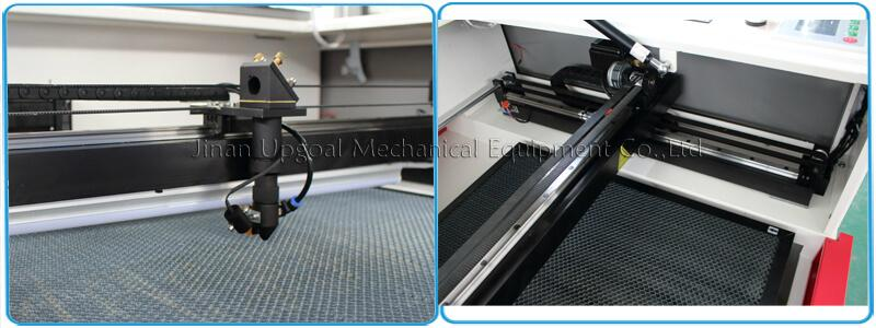 Auto focusing laser head, linear square guide rail & 3M belt transmission