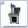 Acrylic Leather Laser Marking Machine with 55W RF Laser Marking Machine