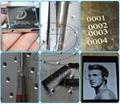 Metal Pen Fiber Laser Marking Machine with Disc Rotary 30W