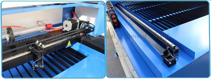 Large Advertising Sign Board Co2 Laser Engraving Cutting Machine 4*8 Feet UG-132 10