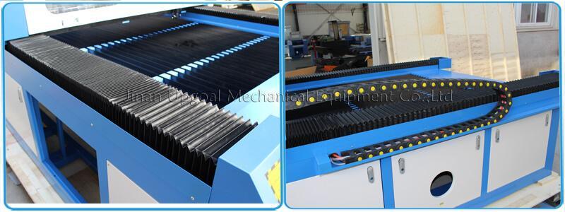 Large Advertising Sign Board Co2 Laser Engraving Cutting Machine 4*8 Feet UG-132 13