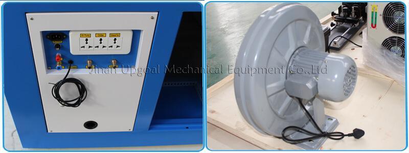 Large Advertising Sign Board Co2 Laser Engraving Cutting Machine 4*8 Feet UG-132 15