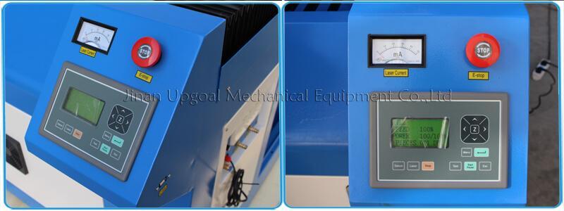 Large Advertising Sign Board Co2 Laser Engraving Cutting Machine 4*8 Feet UG-132 12