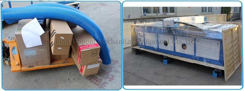 Large Advertising Sign Board Co2 Laser Engraving Cutting Machine 4*8 Feet UG-132 16