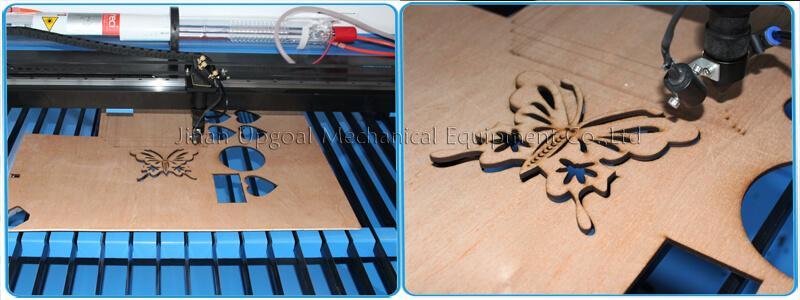 Large Advertising Sign Board Co2 Laser Engraving Cutting Machine 4*8 Feet UG-132 20