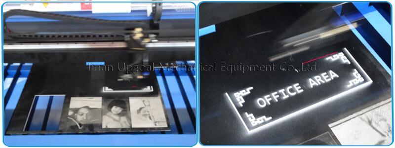 Large Advertising Sign Board Co2 Laser Engraving Cutting Machine 4*8 Feet UG-132 18