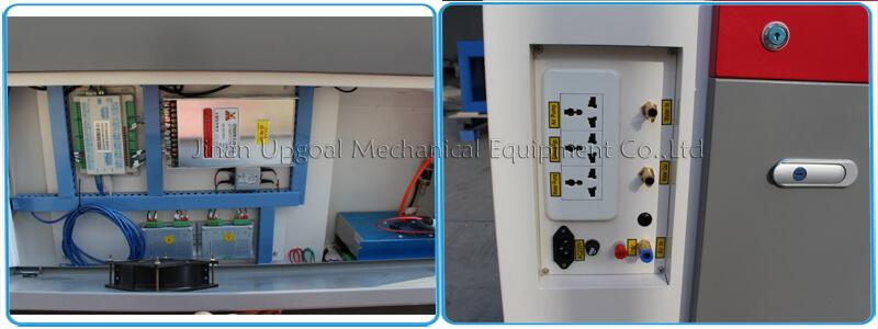Control cabinet & power socket