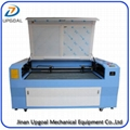 2 Heads Fabric Leather Co2 Laser Engraving Cutting Machine 1600*1000mm