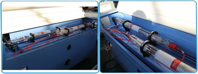 Dual laser tube, each power is 90W, Reci W2 model