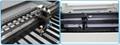 Linear square guide rail & belt transmission, dual LED