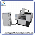 600*600 Heavy Duty Metal Mold CNC Engraving Cutting Machine NcStudio/DSP Control
