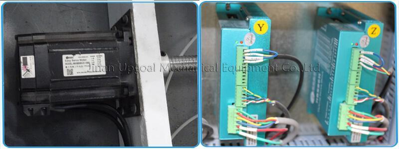 Leadshine hybrid servo motor and driver