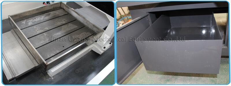 Stainless steel water slot cooling