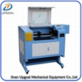 Small 90W Plywood Co2 Laser Cutting Machine with 500*400mm Working Area