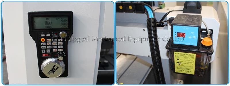Wireless handwheel & Auto lubrication