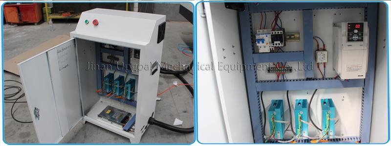 Control cabinet & leadshine hybrid servo motor and driver