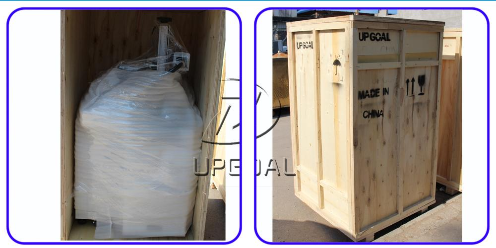 Plywood case packing
