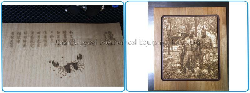 Wood artware engraving cutting samples