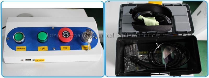 QR Code Laser Marking Machine 20W Fiber Laser Marking Machine 12