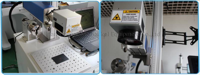 QR Code Laser Marking Machine 20W Fiber Laser Marking Machine 7