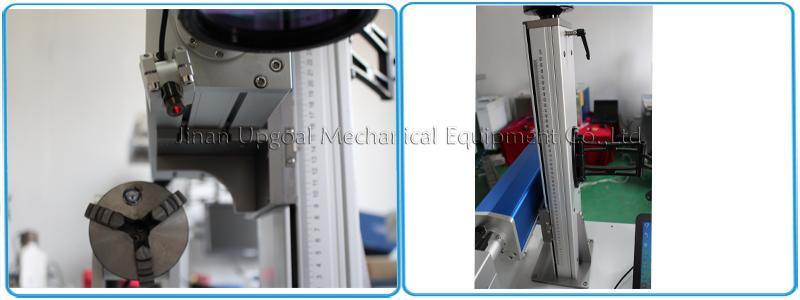 QR Code Laser Marking Machine 20W Fiber Laser Marking Machine 9