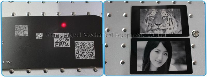 QR Code Laser Marking Machine 20W Fiber Laser Marking Machine 13