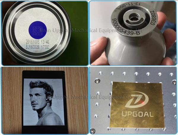 QR Code Laser Marking Machine 20W Fiber Laser Marking Machine 14