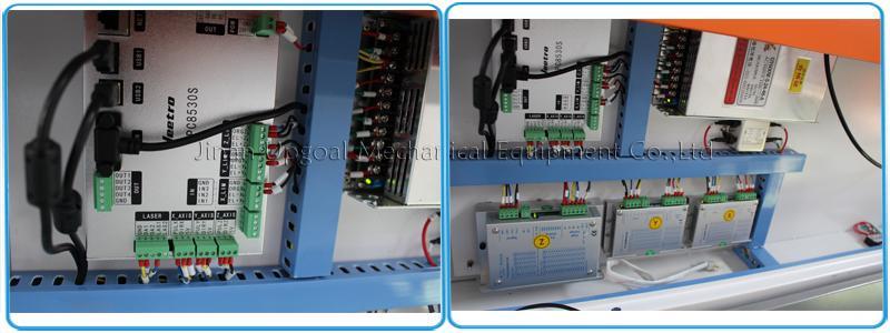 Hot Sale 90W 1390 Size Acrylic Plastic Co2 Laser Cutting Machine 13