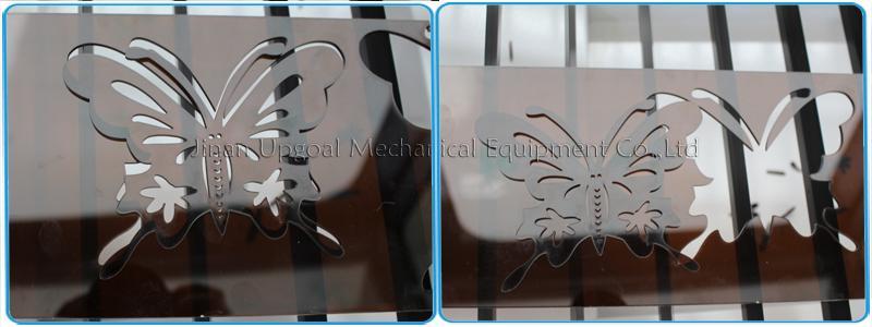 Hot Sale 90W 1390 Size Acrylic Plastic Co2 Laser Cutting Machine 19