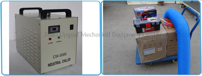 Industrial chiller CW-3000 cooling & air blower & air pump & accessories