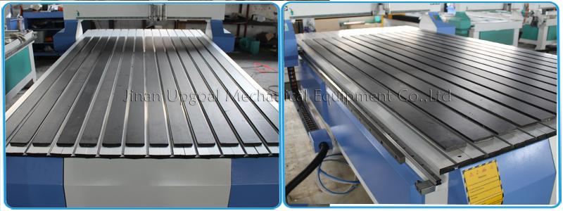 Aluminum alloy T slot working table