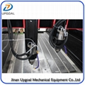 New  Double Z-axis Double Heads Stone CNC Carving Machine with Steel Table