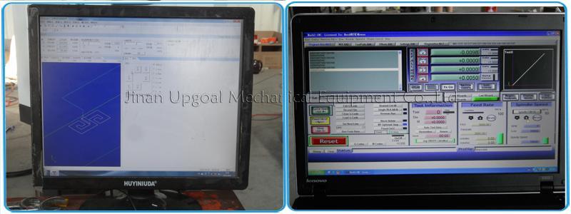 Optional PCI NcStudio/ MACH3 control system