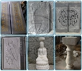 Stone carving samples