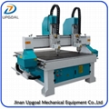 Dual Heads 1313 Wood CNC Carving Machine