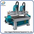 Dual Heads 1313 Wood CNC Carving Machine 1300*1300mm