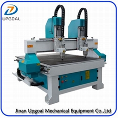 Dual Heads 1313 Wood CNC Carving Machine 1300*1300mm