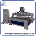 6 Heads CNC Wood Relief Carving Machine 1800*1800mm