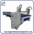Large 2 Head Furniture CNC Carving Cutting Machine with Vacuum Table