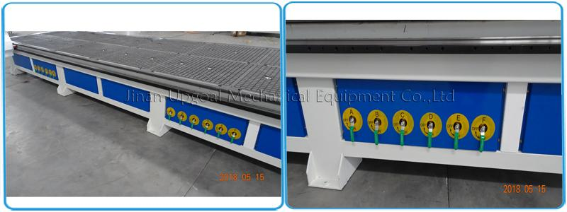 Vacuum table & air cooling vacuum pump