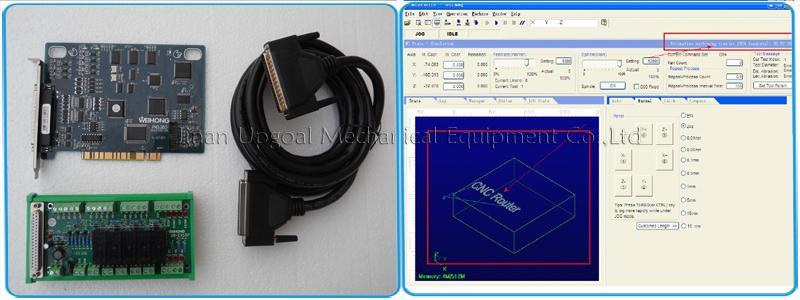 Original PCI NcStudio control system
