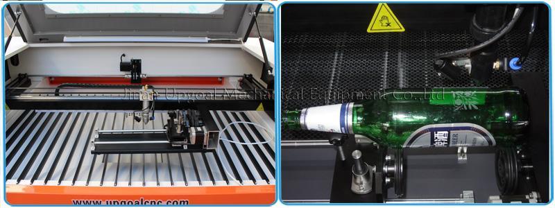 100W Co2 Plexiglass Laser Cutting Machine 1300*900mm 13