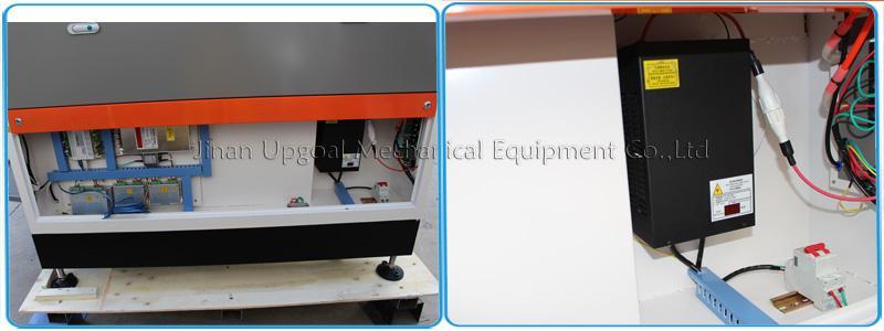 100W Co2 Plexiglass Laser Cutting Machine 1300*900mm 14