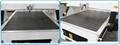 Transverse aluminum alloy T slot working table