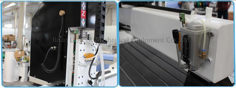 Auto tools calibration & semi-auto lubrication